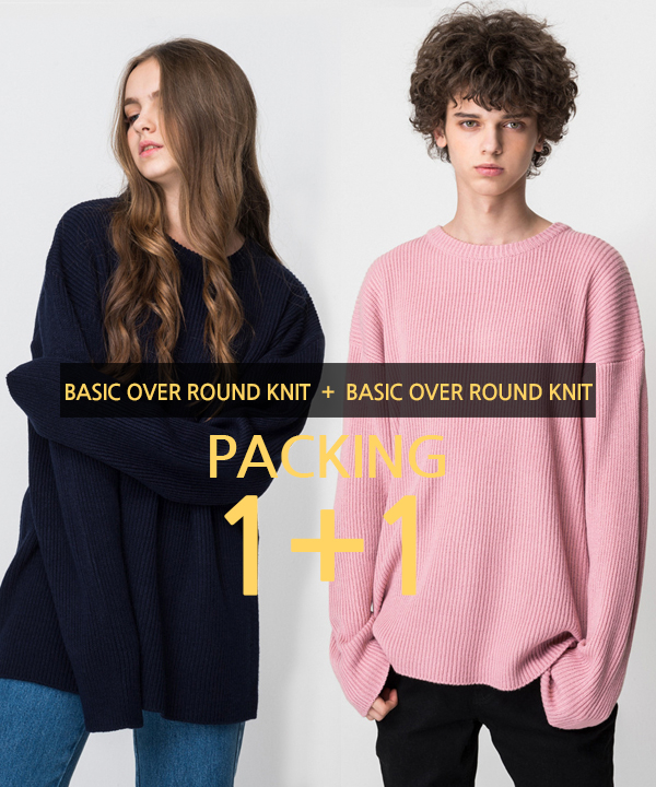[1+1] Over Round Knit #1
