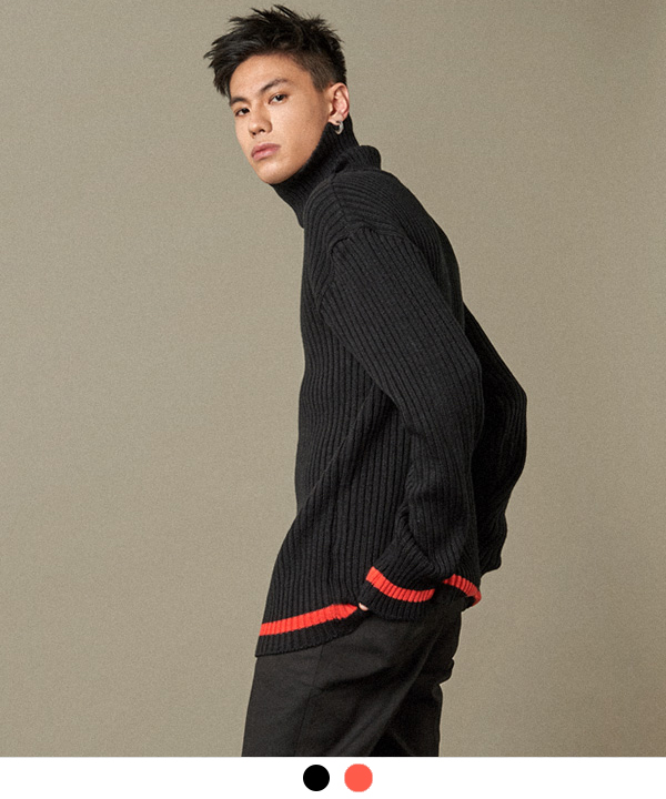 Line Turtleneck Knit