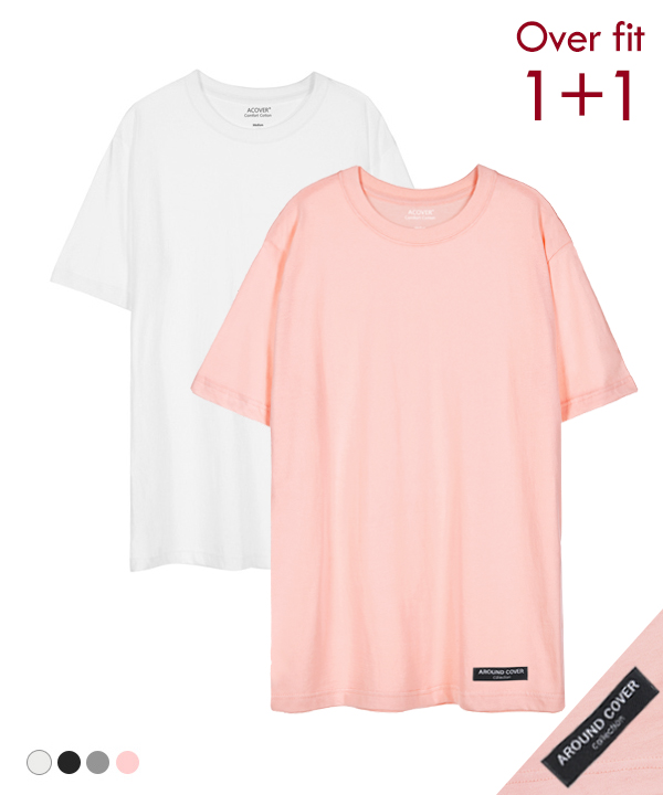 [1+1] PATCH COOL SIDE-VENT T-SHIRTS