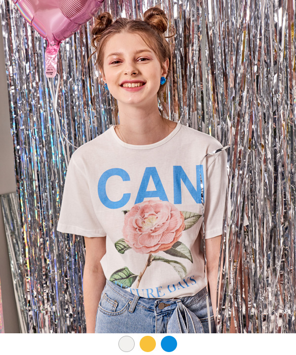 CAN BE A ROSE T-SHIRTS