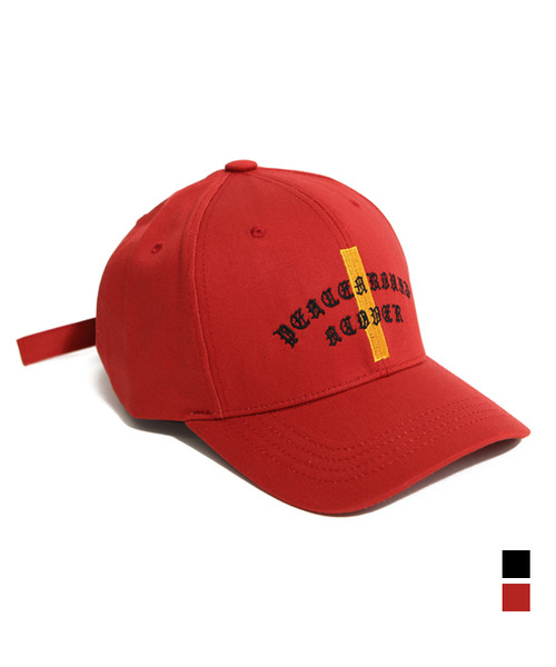 Peace Around Ball Cap Deep Red