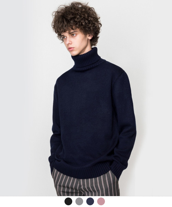 Basic Turtleneck Knit #1