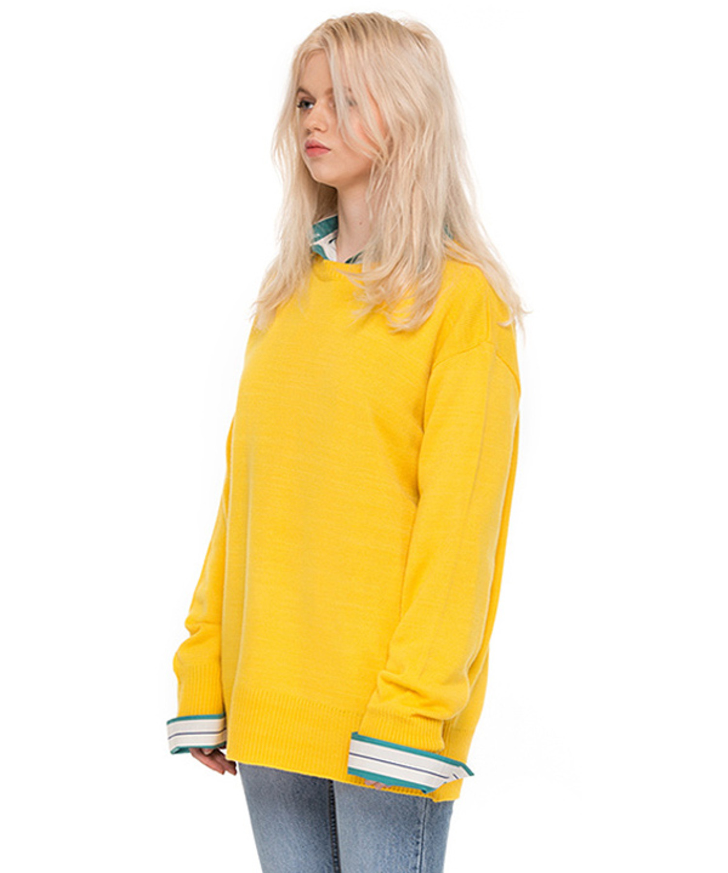 PASTEL KNIT YELLOW