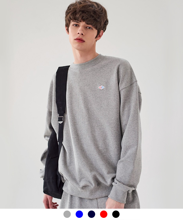 [4월3일예약배송] DOUBLE WAPPEN BASIC SWEATSHIRTS