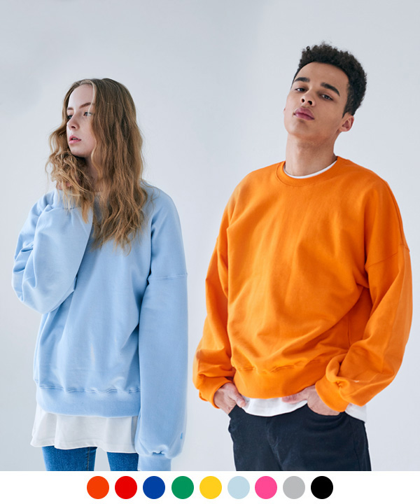 COLORFUL S BASIC SWEATSHIRT