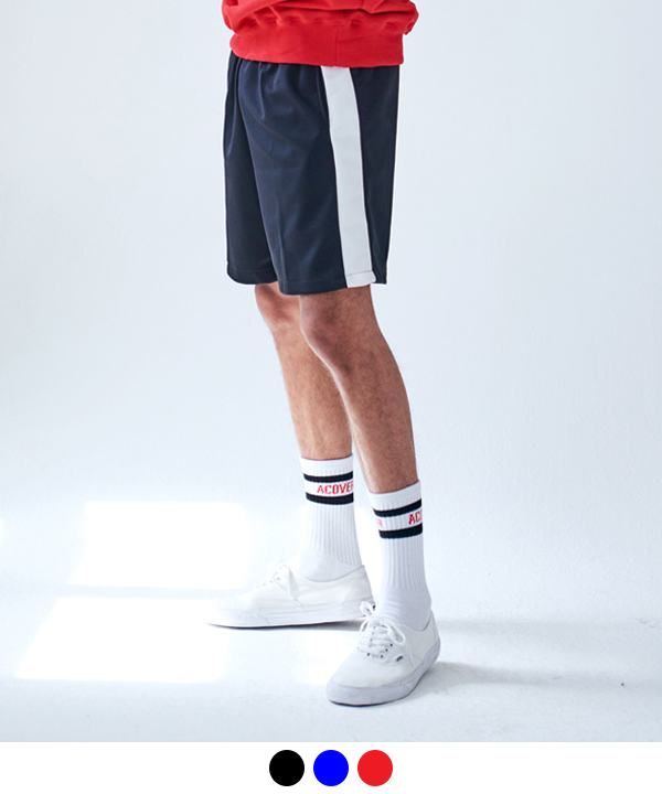 LINE TRACK JERSEY SHORTS