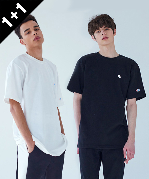 [1+1] TWO PATCH T-SHIRT