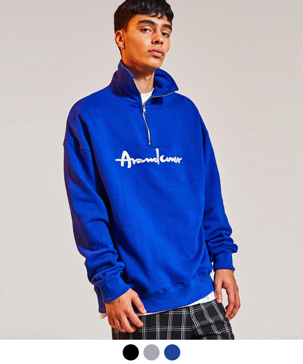2ND HALF ZIP UP SWEATSHIRT