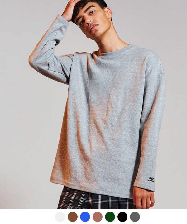 [9월29일 예약배송] SLEEVE NEEDLEPOINT OVER T-SHIRTS