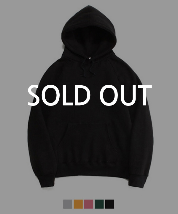 [기모] 950g Over Fit Heavy Tumble Hoodie