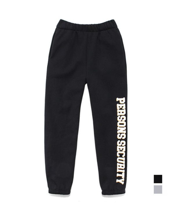 Security Tumble Easy Sweat Pants Black