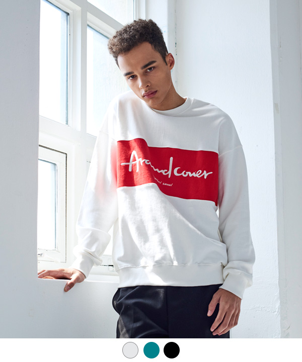 CITY COLOR BLOCK SWEATSHIRT