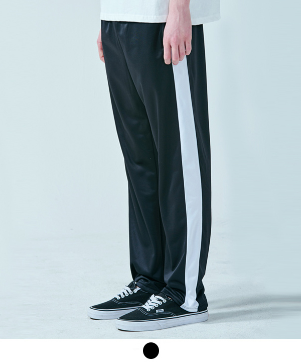 Banding Track Pants Black