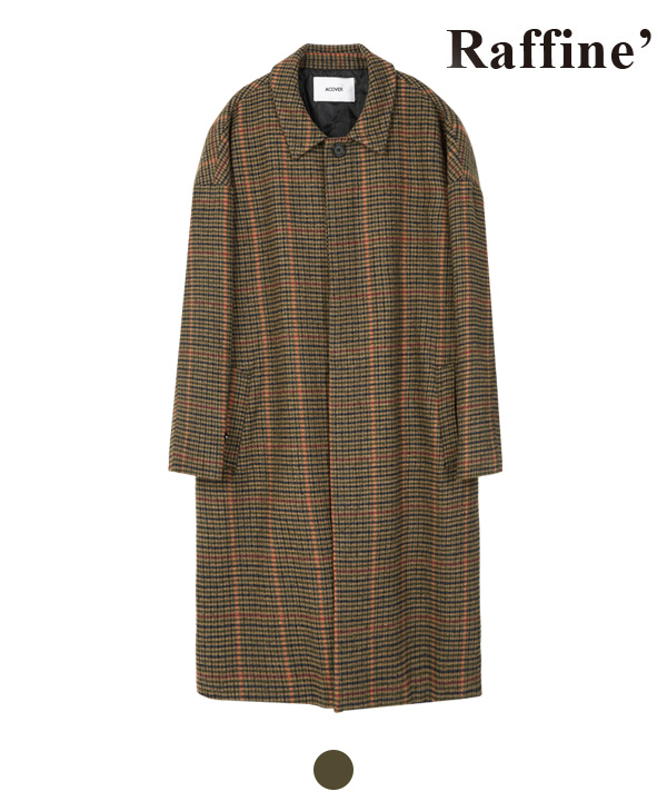HIDDEN BUTTON MAC COAT