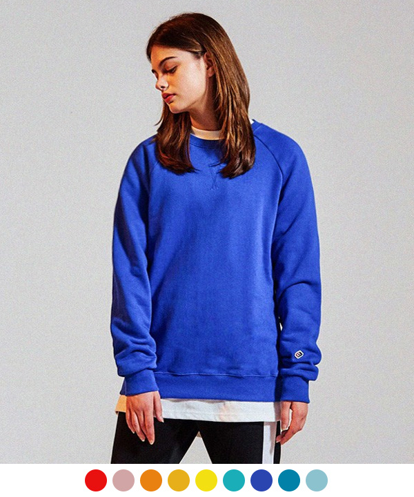 Terry Tumble Crewneck Sweatshirts