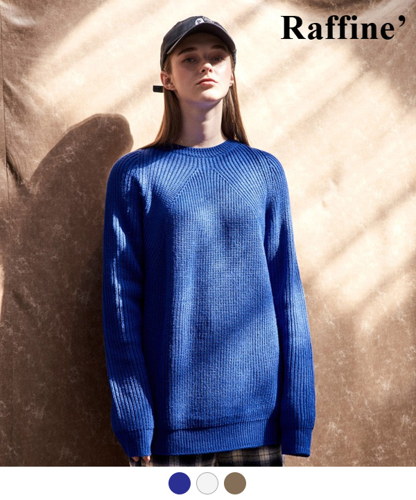 STRUCTURE CREWNECK SWEATER
